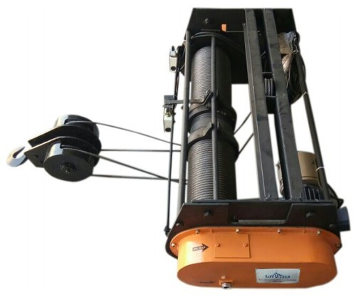 Electric Wire Rope Hoist Without Trolley Lifting Speed: 3 Rpm