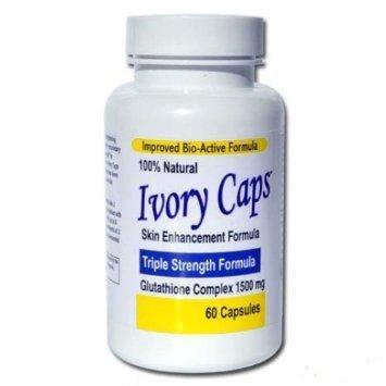 Ivory Caps Glutathione Skin Whitening Pills