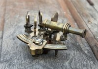 Antique Brass Sextant