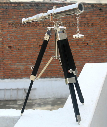 Handmade Vintage Telescope Spy Glass Pirate Telescope With Tripod