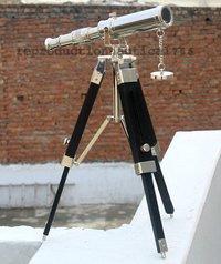 Handmade Vintage Telescope Spy Glass Pirate Telescope With Tripod