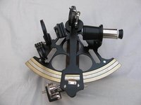 Collectible Brass Sextant Nautical Design