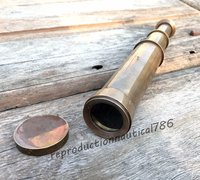 US Navy Ship Brass Telescope Handmade Pocket Telescope