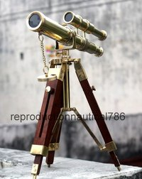 Marine Ship Pirate Telescope With Tripod Balcony Decorative