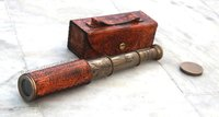 J. Scoot Antique Brass Spy Glass Telescope