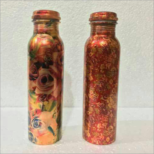 Copper Metal Water Bottle