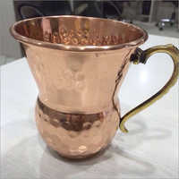 Conical Shape Copper Mug