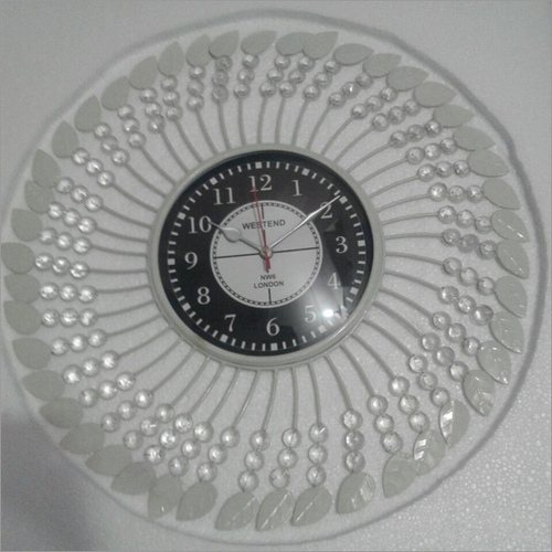 Round Diamond Wall Clock
