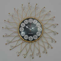 Wall Iron Clock