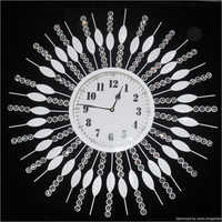 Rot Iron Wall Clock