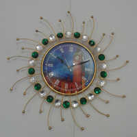 Iron Wall Hanging Clock