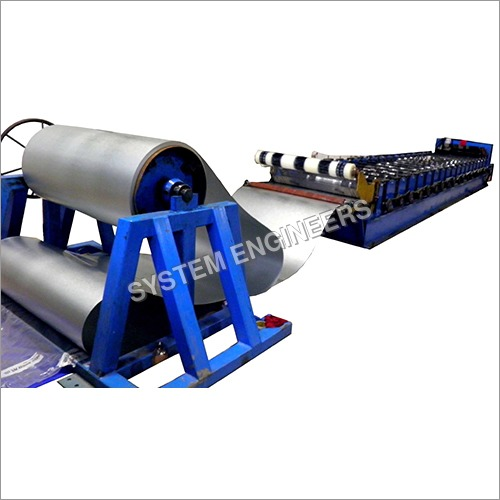 Automatic Roofing Sheet Roll Forming Machine