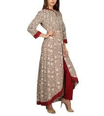 Block Print Cotton Kurti