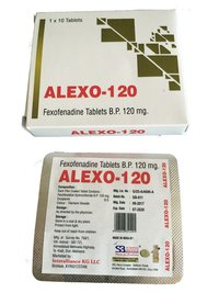 Fexofenadine Tablets 120 mg