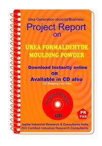 Urea Formaldehyde Moulding Powder Manufacturing Ebook