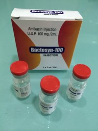 Amikacin Sulphate Injection 100 mg