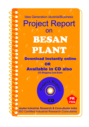 Besan Plant Manufacturing Project Report eBook