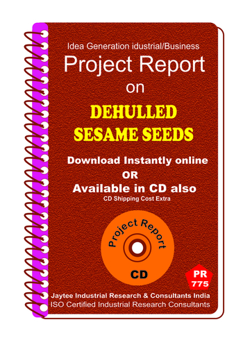Dehulled Sesame Seeds manufacturing eBook