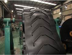Chevron Cleated Conveyor Belt  V shape, Bull type, Y Shape