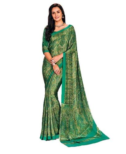 Crepe Silk Saree