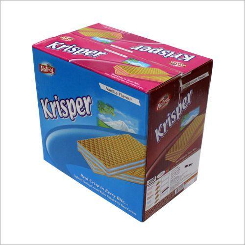 Krisper Cream Wafer Biscuit Box