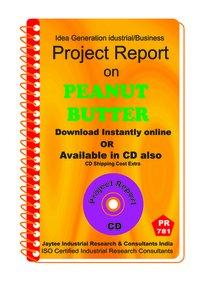Peanut Butter Manufacturing Project Report eBook