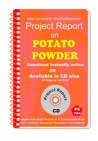 Potato Powder B Manufacturing Project Report eBook