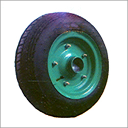 Wheel Barrow Tyre With MS DISC And Tube