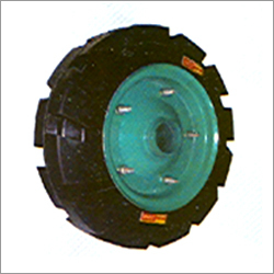 Solid Rubber Wheel For Pumping Set