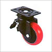 Pressed Steel Caster Wheel Powder Coated