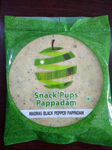 Madras Black Pepper Pappadam