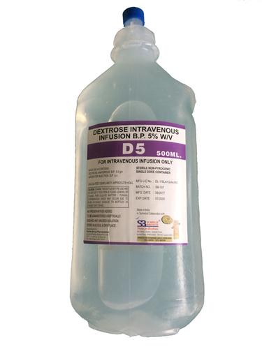 dextrose 5 w/v intravenous infusion bp