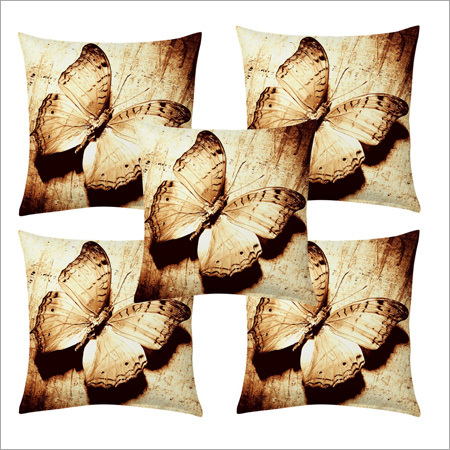 Digital Butterfly Print Cushion Covers