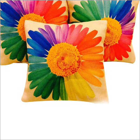 Digital Flower Print Cushion Covers
