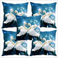 Digital Swan Print Cushion Covers