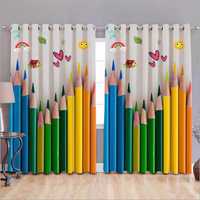 Digital Print 3D Curtain