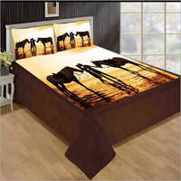 Digital Print Double Bed Sheets