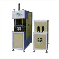 Semi Automatic Pet Stretch Blow Moulding Machine