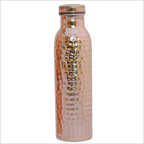 900ml Hammerred Copper Bottle