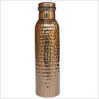 Pure Copper Hammerred Bottle