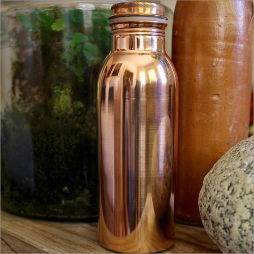 Wide Mouth Copper Bottle