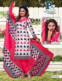 Fancy printed dress material Shofiya