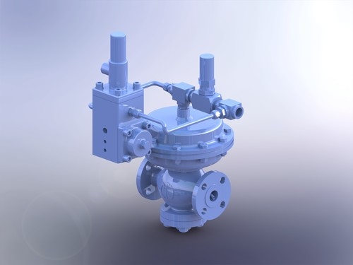 Downstream Pilot Operated Pressure Regulator DP 3100 Series