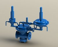 Downstream Pilot Operated Pressure Regulator B3 Series