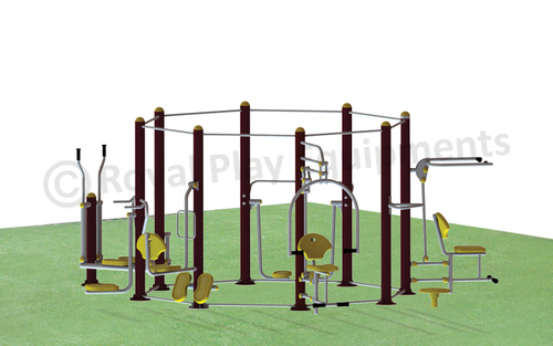 Octagonal Multi Activity Gym System