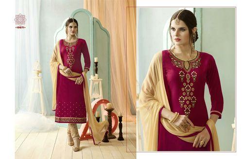 Pink dress material Sundress vol 4