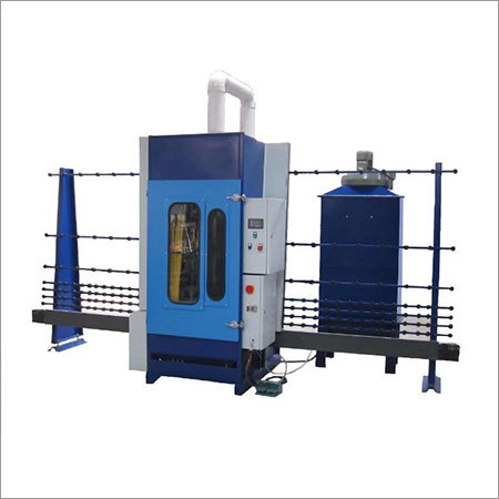 Vertical Automatic Sandblasting Machine