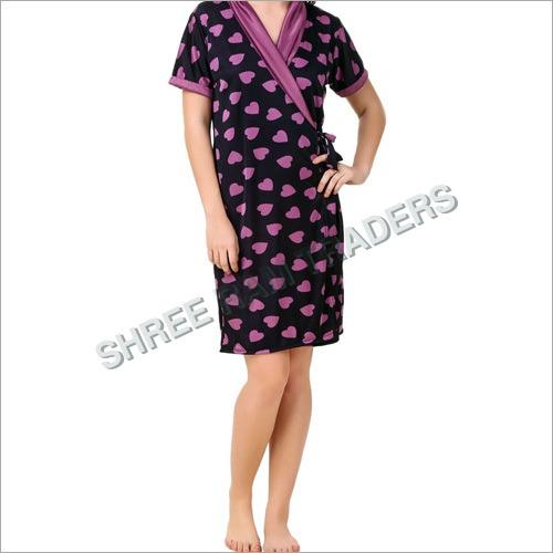 Ladies Printed Robe