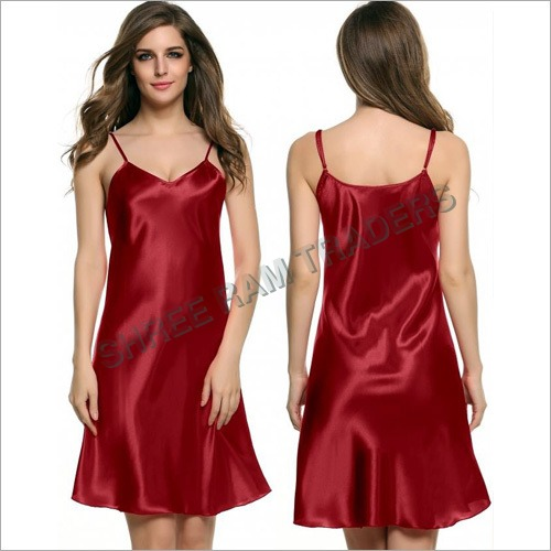 Ladies Satin Nighty