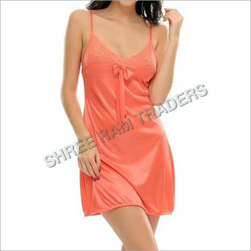 Ladies V-Neck Sleeveless Nighty